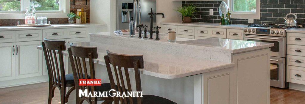 Ομογενείς Επιφάνειες Κουζίνας Franke Marmi Graniti