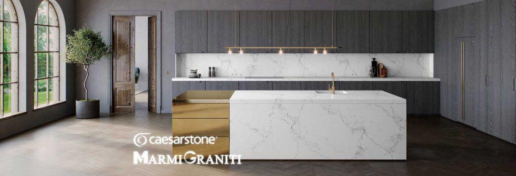 Χαλαζίες Κουζίνας Caesarstone Marmi Graniti