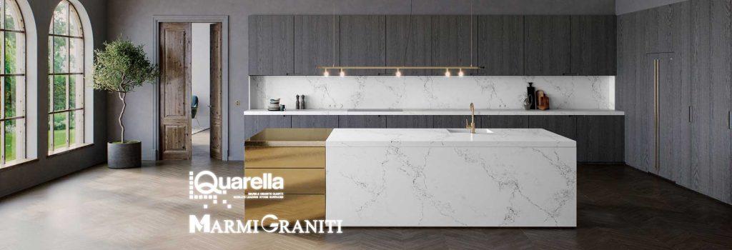 Χαλαζίες Κουζίνας Quarella Marmi Graniti